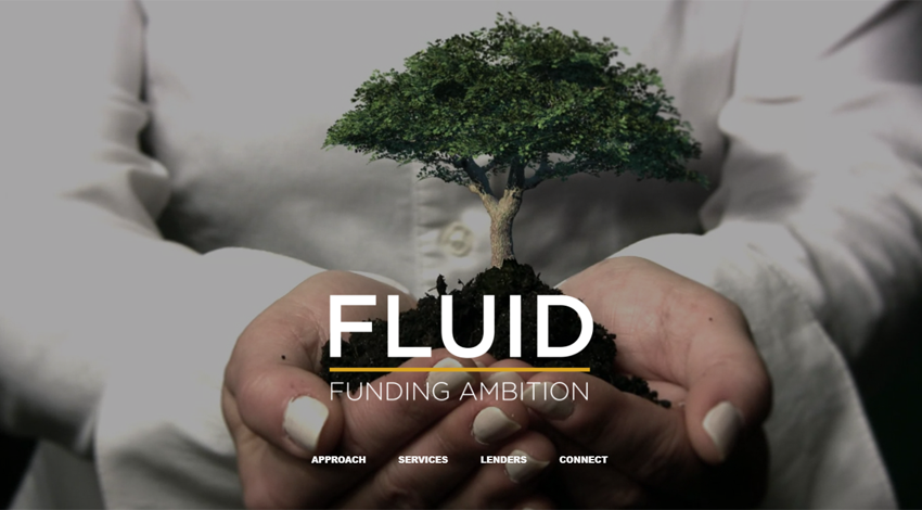 Fluid Funding Website